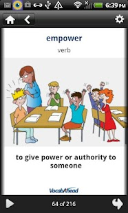 Grade 6 Vocab Audios and Pics- screenshot thumbnail