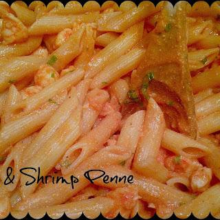 Tomato & Shrimp Penne