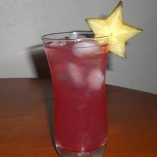 Cranberry Rum Punch.