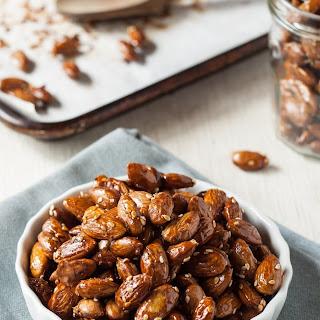 Maple-Tamari Roasted Almonds