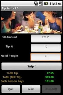 how to make a tip calculator app for android