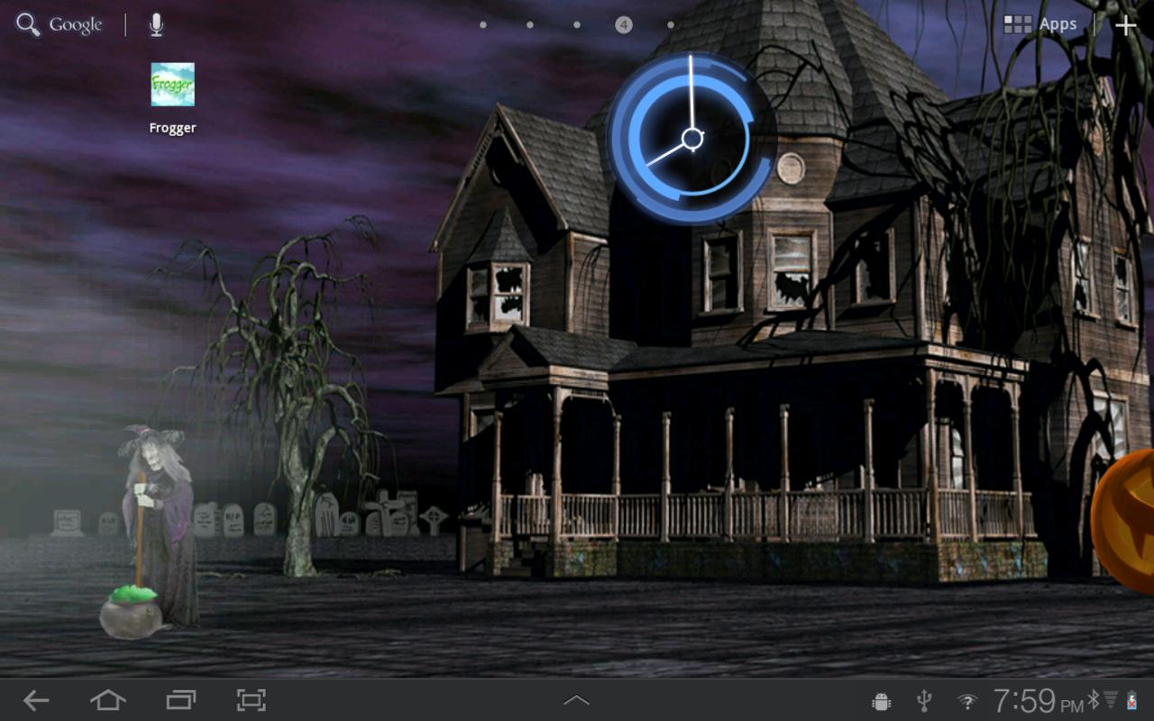 halloween live wallpaper hd androidapps op google play