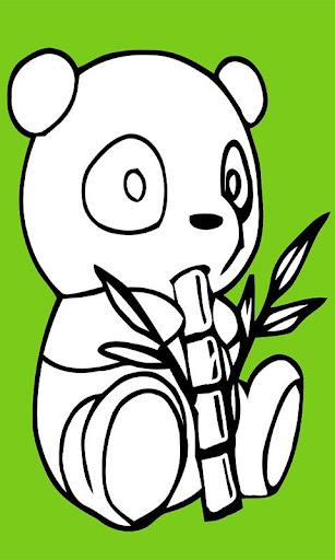 Panda Jump Paint