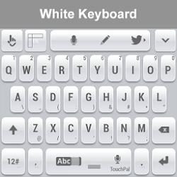 White Keyboard HD