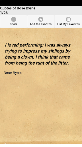 Quotes of Rose Byrne