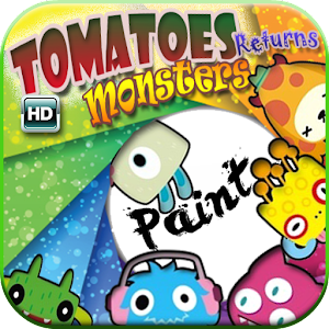 Tomatoes Monsters Paint Return for Android
