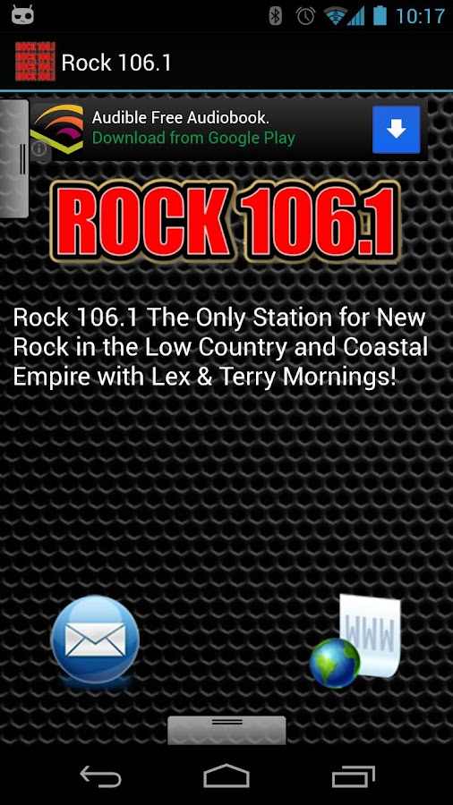 Rock 106.1 - screenshot