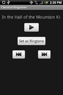 CLASSICAL Ringtones - screenshot thumbnail