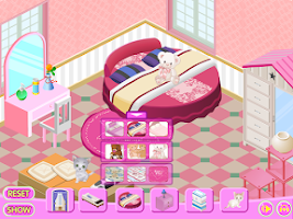 Screenshot of Decorating My Cosy Room Game