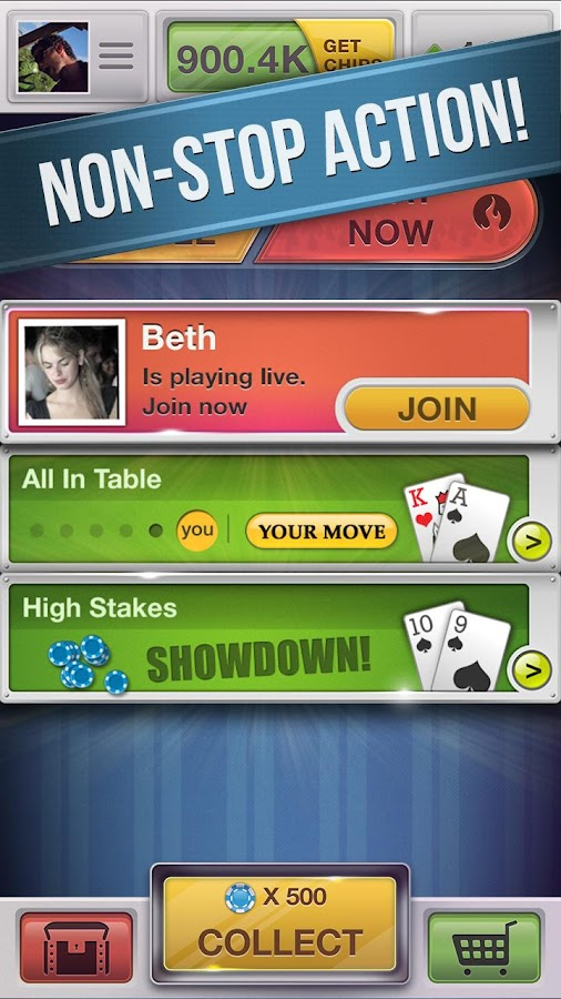 Poker Heat - Texas Holdem- screenshot