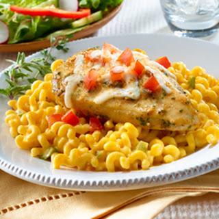 Cheesy Chicken With Pasta