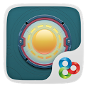 Round glass GO Launcher Theme icon