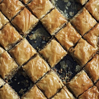 Mixed Nut & Honey Baklava Recipe