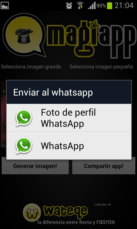 magiapp tricks for WhatsApp! - screenshot