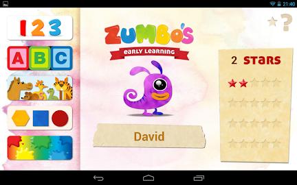 Zumbo's Early Learning Screenshot 10
