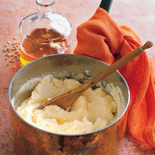 Potato Puree with Walnut Oil.