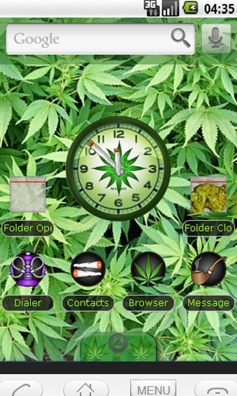 New Marijuana 2 Joints Theme - screenshot