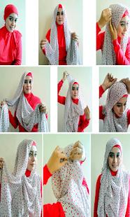 頭巾樣式的步驟