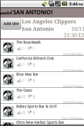 Watch San Antonio! - screenshot