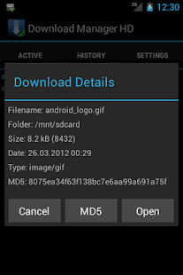 Download Manager HD- screenshot thumbnail