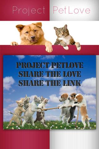 PROJECT PET LOVE- screenshot