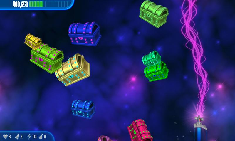 Chicken Invaders 3 HD (Tablet) - screenshot