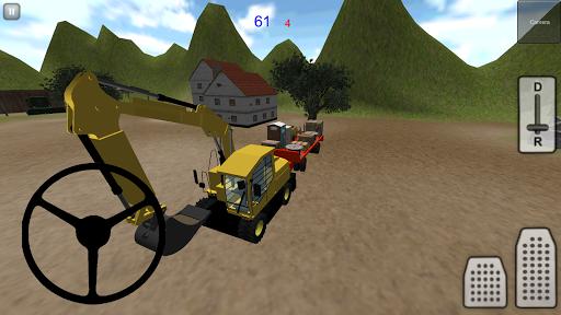 挖掘机模拟器3D:路