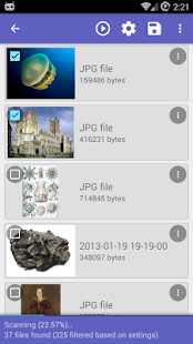 DiskDigger undelete (root)- screenshot thumbnail