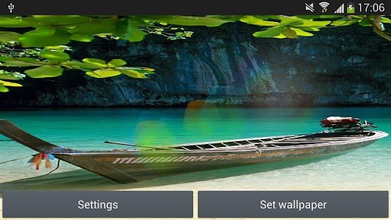 Nature Sunshine Live Wallpaper APK for Bluestacks