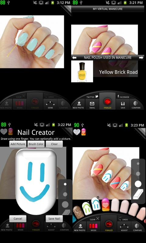 Virtual Nail Salon- screenshot