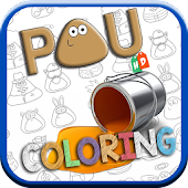 Coloring POU HD