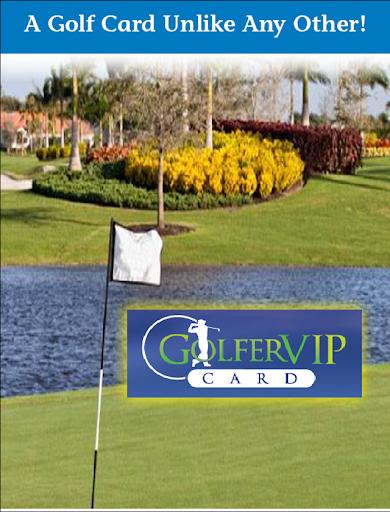 Golfer VIP Card