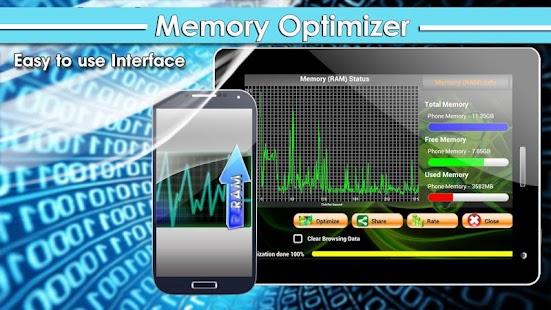 Memory Optimizer FREE - screenshot thumbnail