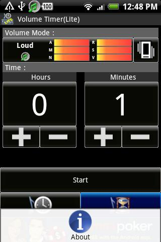 Volume Timer(Lite) - screenshot