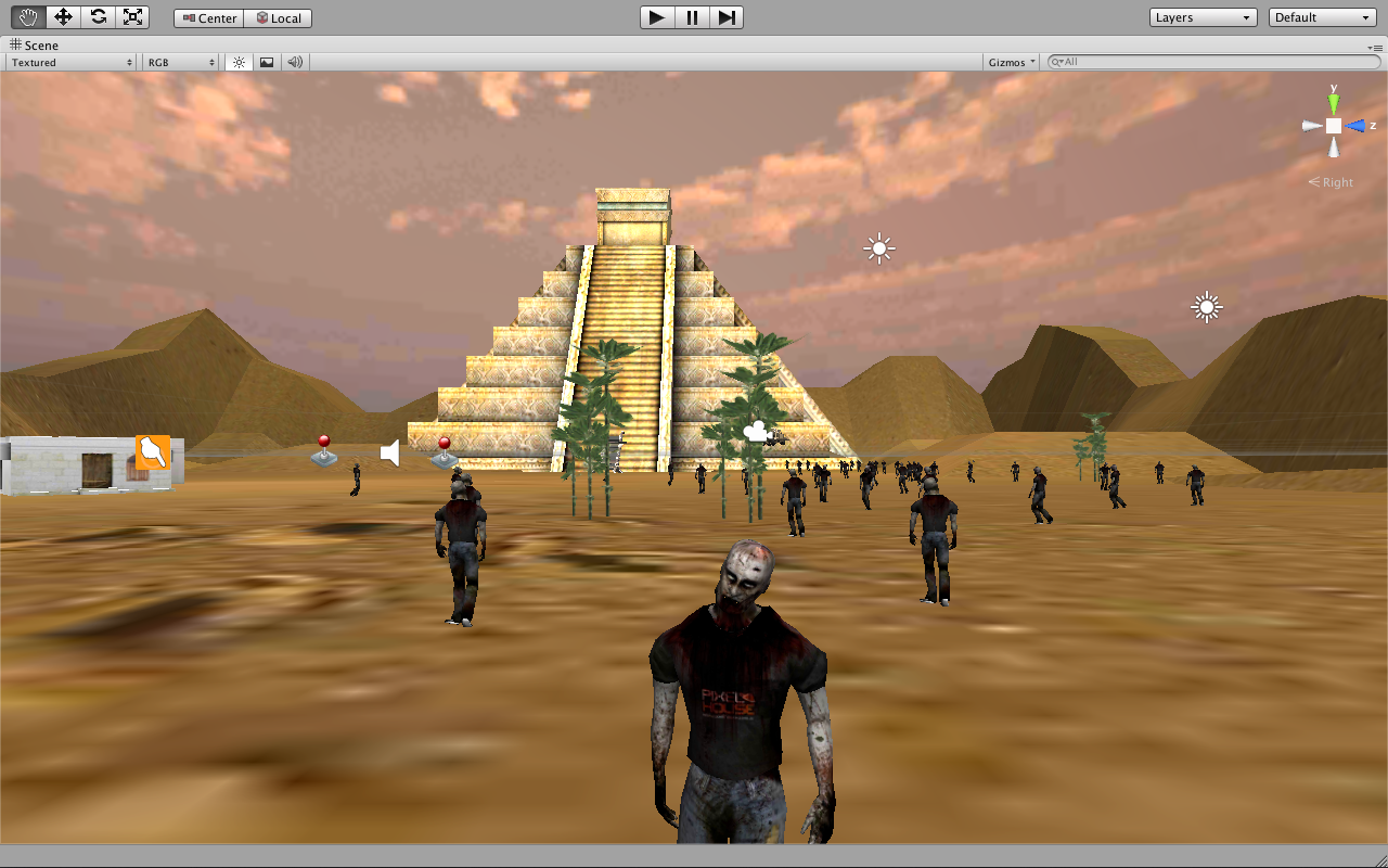 Zombie Racing Middle East- screenshot