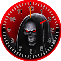 Skull Clock Widget icon