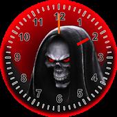 Skull Clock Widget