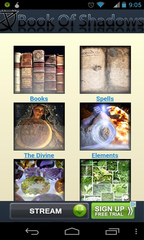Free Book of Shadows- screenshot