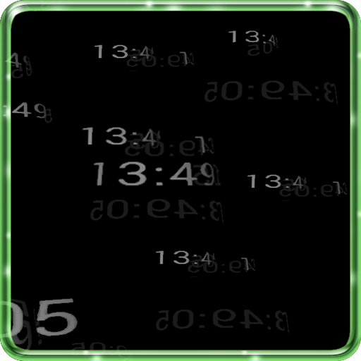 5D Digital Clock HD Wallpaper LOGO-APP點子