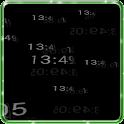 5D Digital Clock HD Wallpaper icon