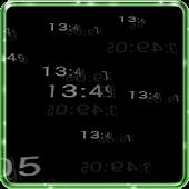 5D Digital Clock HD Wallpaper
