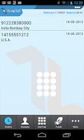Screenshot of 1LegCall - VoIP Dialer