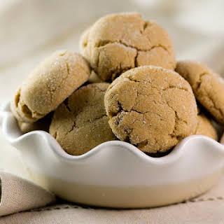 Brown Sugar Crinkle Cookies.