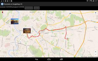 Screenshot of Panoramio on GoogleMaps V2