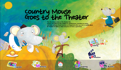 Country Mouse Goes to the Th..