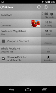 Mighty Grocery Shopping List Screenshot 3