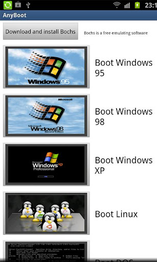 Android 2 1] AnyBoot- boot any OS -win 95,98,xp,linux- no root or