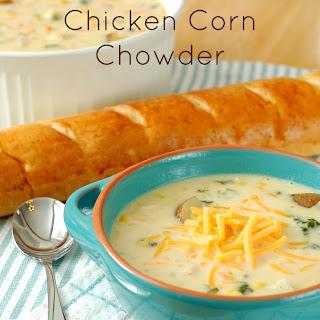 Chicken Corn Chowder Soup Crock Pot Recipes.