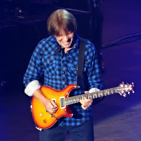 John Fogerty Live by Sue Fulop - People Musicians & Entertainers