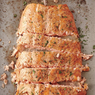 Roasted Salmon with Butter Recipe